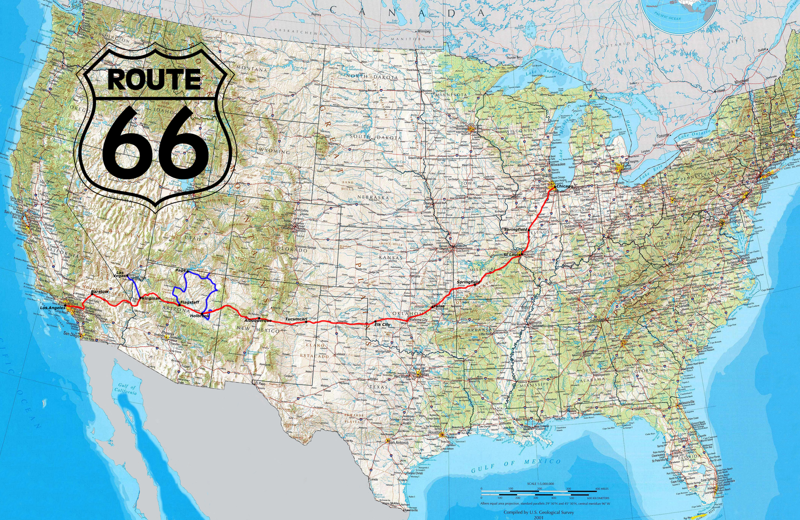 real route 66